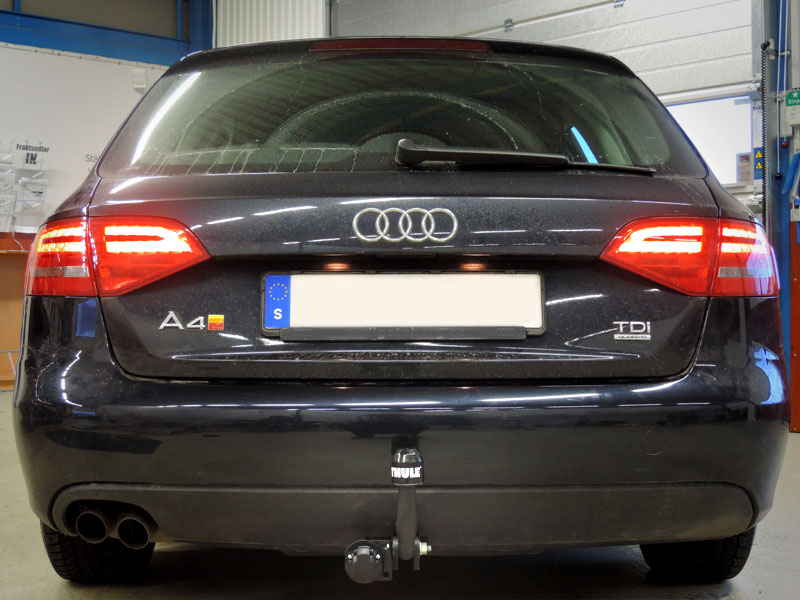 Audi A4 dragkrok referens